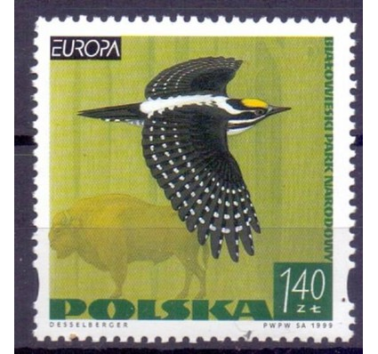 Znaczek Polska 1999 Mi 3763 Fi 3615 Czyste **