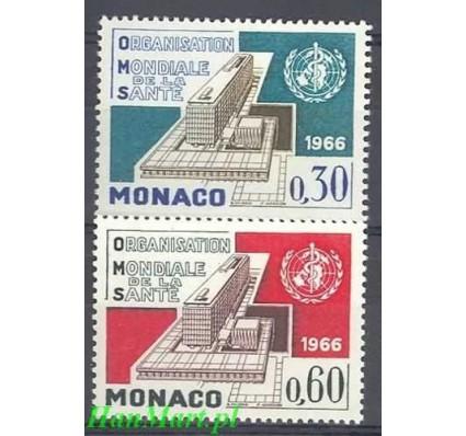 Monako 1966 Mi 837-838 Czyste **