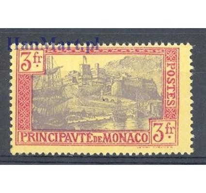 Znaczek Monako 1927 Mi 101 Z podlepką *
