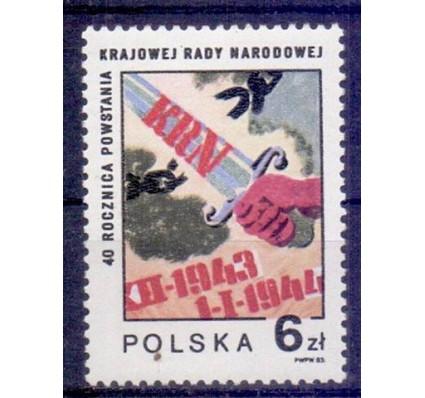 Polska 1983 Mi 2898 Fi 2750 Czyste **