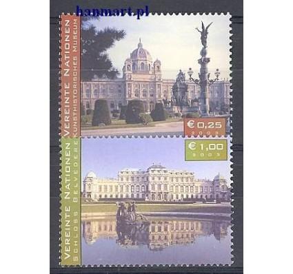 Narody Zjednoczone Wiedeń 2003 Mi 387-388 Czyste **
