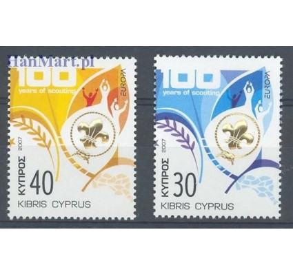 Cypr  2007 Mi 1096-1097 Czyste **