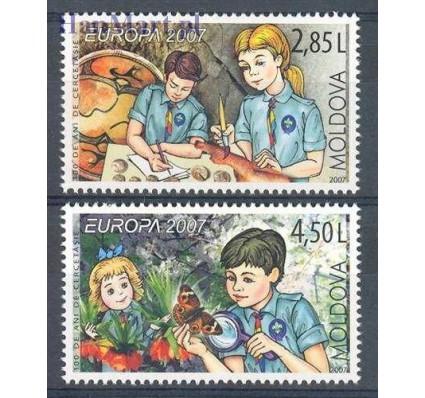 Mołdawia 2007 Mi 582-583 Czyste **