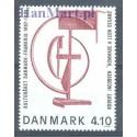 Dania 1988 Mi 928 Czyste **