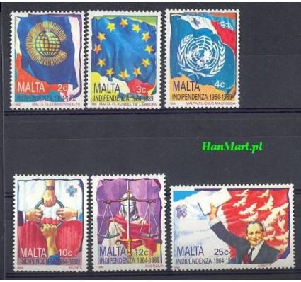 Malta 1989 Mi 809-814 Czyste **