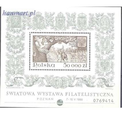 Znaczek Polska 1993 Mi bl 122 Fi bl152B Czyste **