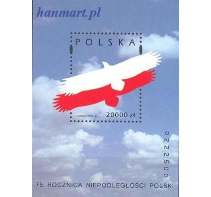Znaczek Polska 1993 Mi bl 124 Fi bl 154 Czyste **