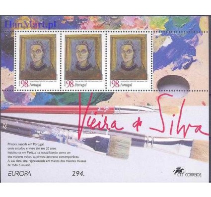 Portugalia 1996 Mi bl 113 Czyste **