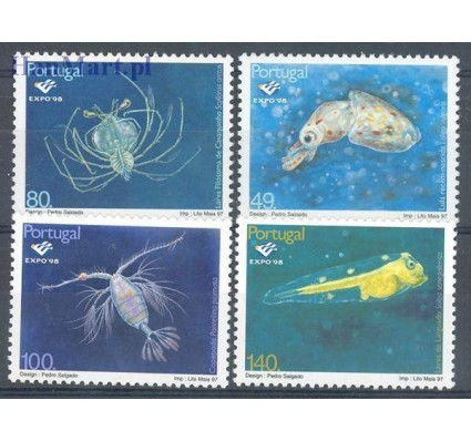 Znaczek Portugalia 1997 Mi 2218-2221 Czyste **
