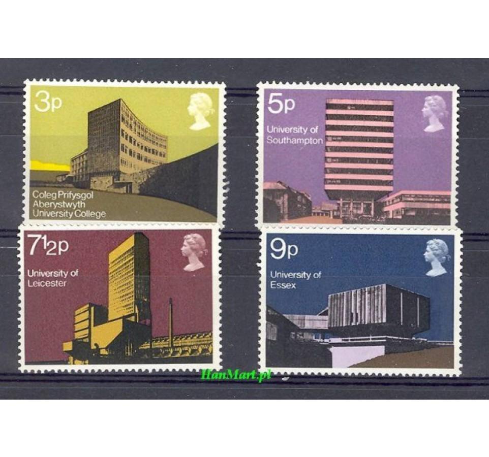 Wielka Brytania 1971 Mi 583-586 Czyste **