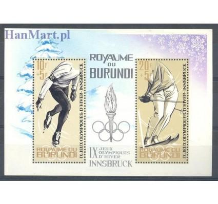 Znaczek Burundi 1964 Mi bl 3 Czyste **