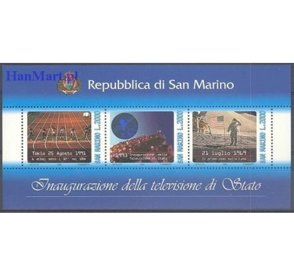 Znaczek San Marino 1993 Mi bl 16 Czyste **