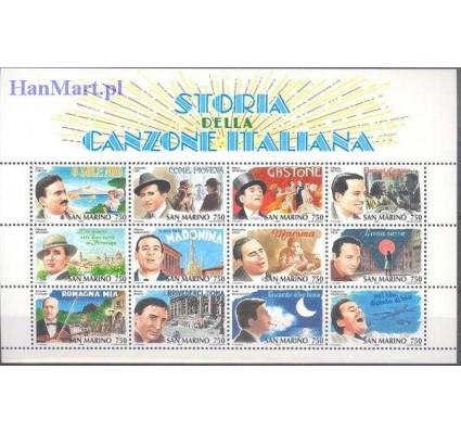 Znaczek San Marino 1996 Mi bl 21 Czyste **