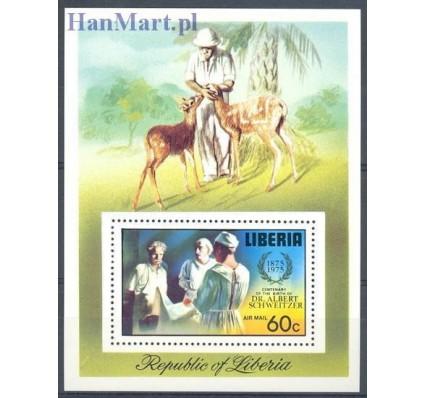 Znaczek Liberia 1975 Mi bl 77 Czyste **