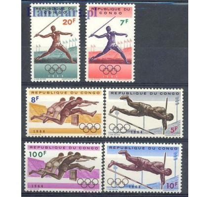 Kongo Kinszasa / Zair 1964 Mi 169-174 Czyste **