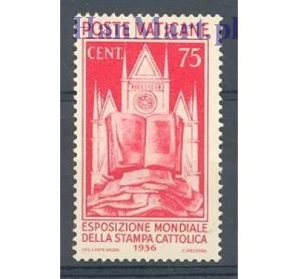 Znaczek Watykan 1936 Mi 55 Z podlepką *