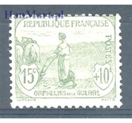 Znaczek Francja 1917 Mi 130 Z podlepką *