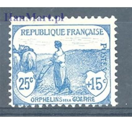 Znaczek Francja 1917 Mi 131 Z podlepką *