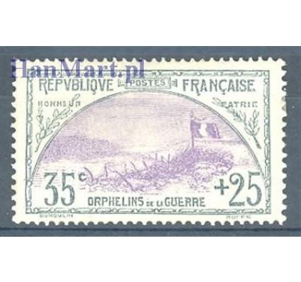 Francja 1917 Mi 132 Z podlepką *