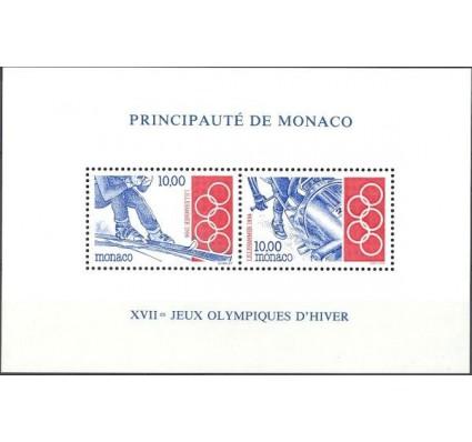 Znaczek Monako 1994 Mi bl 61 Czyste **