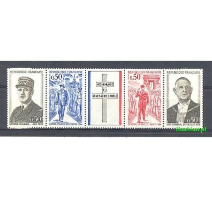 Francja 1971 Mi 1772-1775 Czyste **