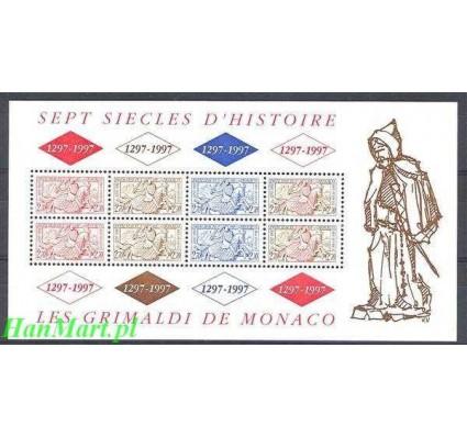 Znaczek Monako 1997 Mi bl 72 Czyste **