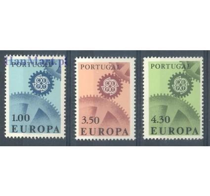 Znaczek Portugalia 1967 Mi 1026-1028 Czyste **