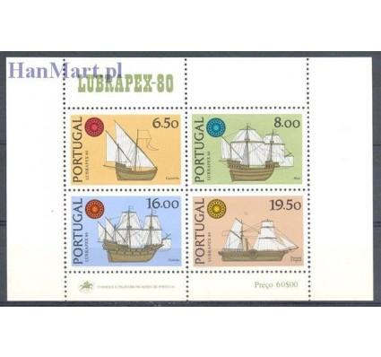 Znaczek Portugalia 1980 Mi bl 31 Czyste **
