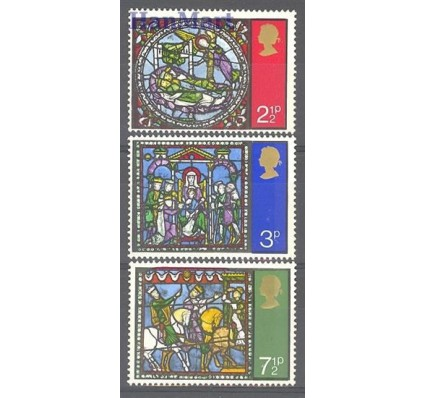 Znaczek Wielka Brytania 1971 Mi 587-589 Czyste **