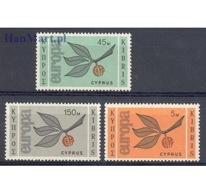 Znaczek Cypr  1965 Mi 258-260 Czyste **