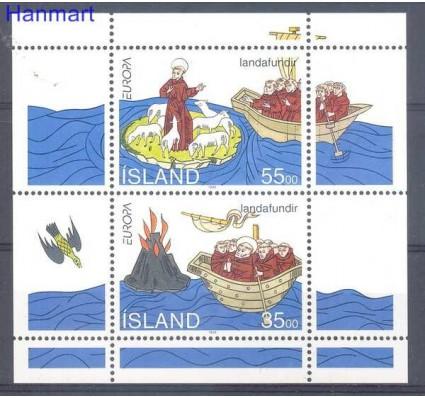 Znaczek Islandia 1994 Mi bl 15 Czyste **