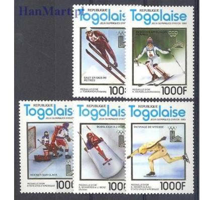 Znaczek Togo 1980 Mi 1508-1512 Czyste **