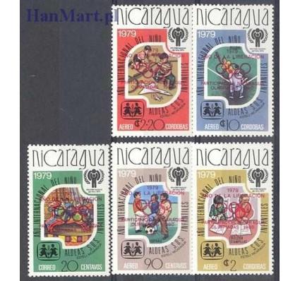 Znaczek Nikaragua 1979 Mi 2080-2084a Czyste **