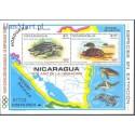 Nikaragua 1980 Mi bl 114 Czyste **