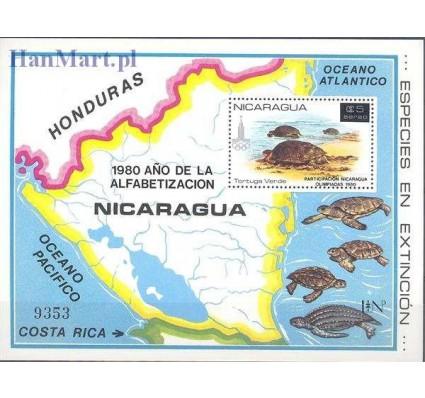 Znaczek Nikaragua 1981 Mi bl 136 Czyste **