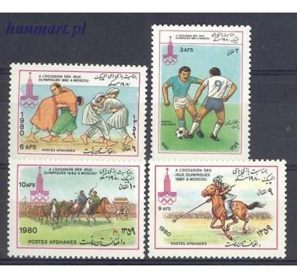 Znaczek Afganistan 1980 Mi 1236-1239 Czyste **
