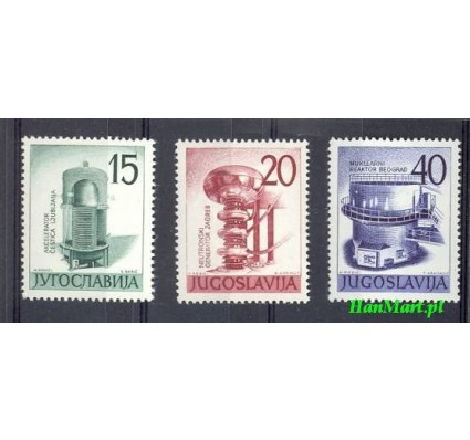 Jugosławia 1960 Mi 927-929 Czyste **