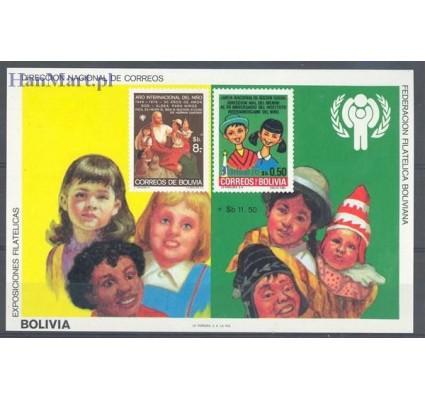 Znaczek Boliwia 1980 Mi bl 97 Czyste **