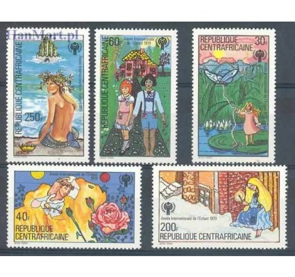 Republika Środkowoafrykańska 1979 Mi 643-647 Czyste **