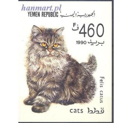 Znaczek Jemen 1990 Mi bl 5 Czyste **