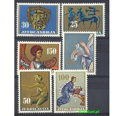 Znaczek Jugosławia 1962 Mi 1026-1031 Czyste **