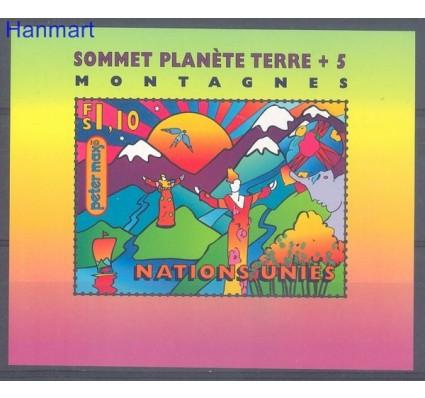 Narody Zjednoczone Genewa 1997 Mi bl 9 Czyste **