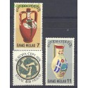 Grecja 1976 Mi 1232-1234 Czyste **
