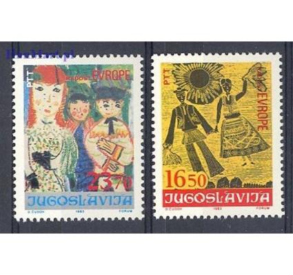 Jugosławia 1983 Mi 2002-2003 Czyste **