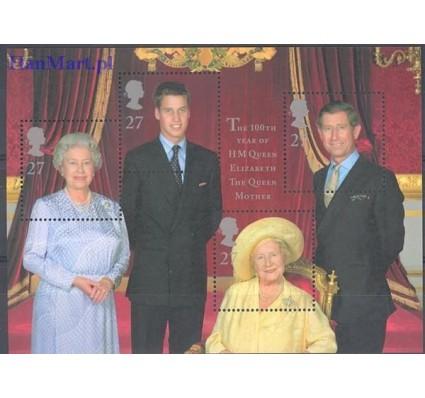 Znaczek Wielka Brytania 2000 Mi bl 9 Czyste **