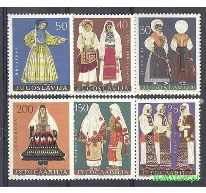 Znaczek Jugosławia 1964 Mi 1085-1090 Czyste **