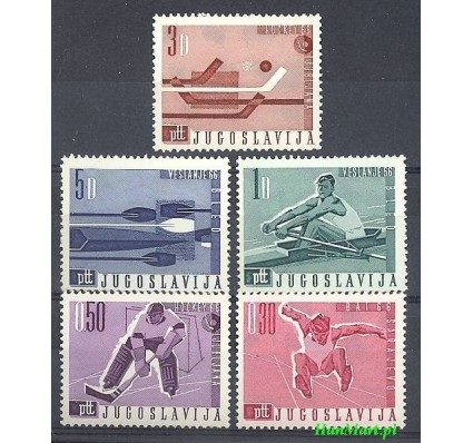 Znaczek Jugosławia 1966 Mi 1144-1148 Czyste **