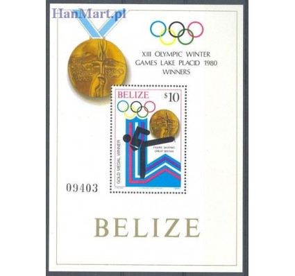 Znaczek Belize 1980 Mi bl 21 Czyste **