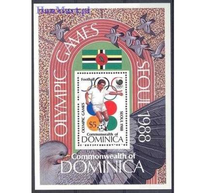 Znaczek Dominika 1988 Mi bl 127 Czyste **