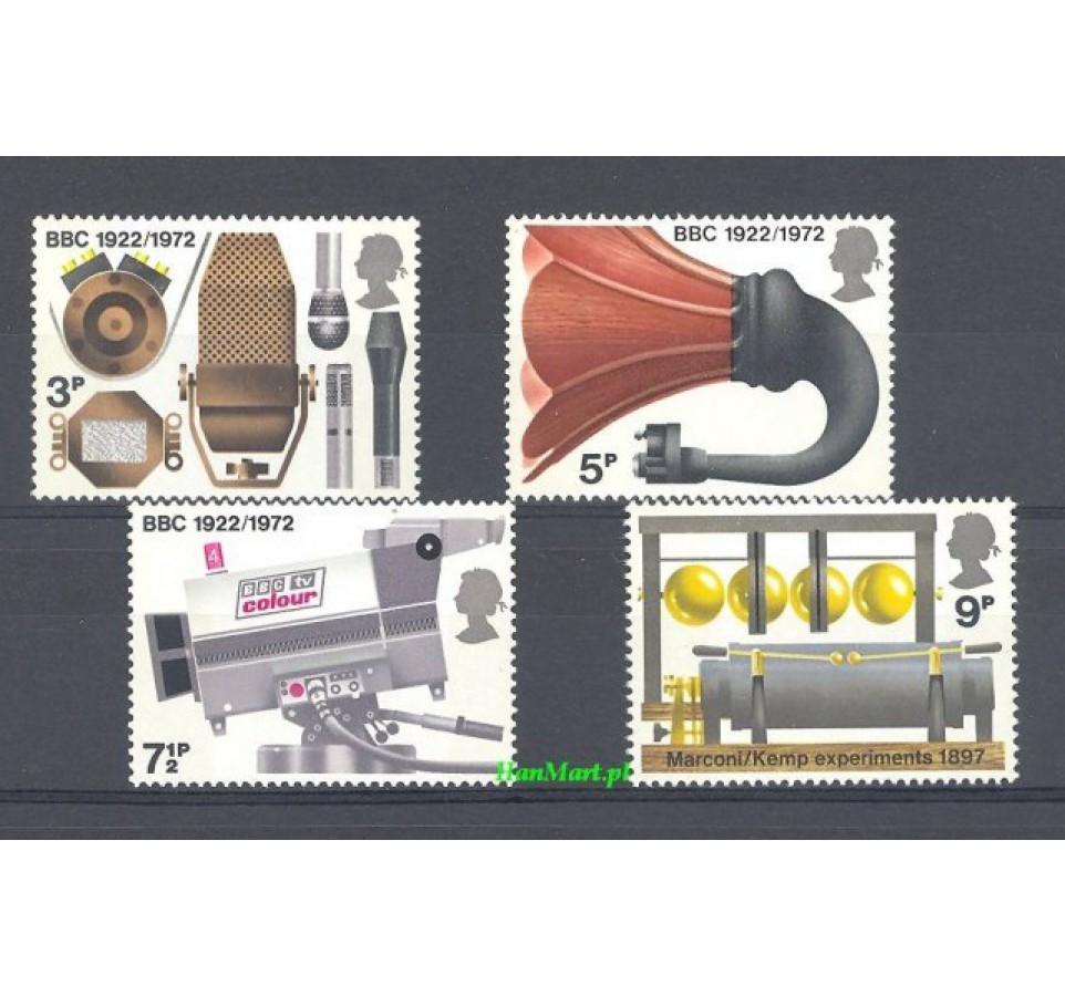 Wielka Brytania 1972 Mi 602-605 Czyste **